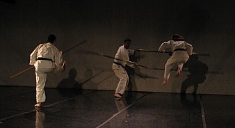 Sansetsukon bo kumi waza, Green StreetStudios 2003, Photo courtesy of Jim Baab