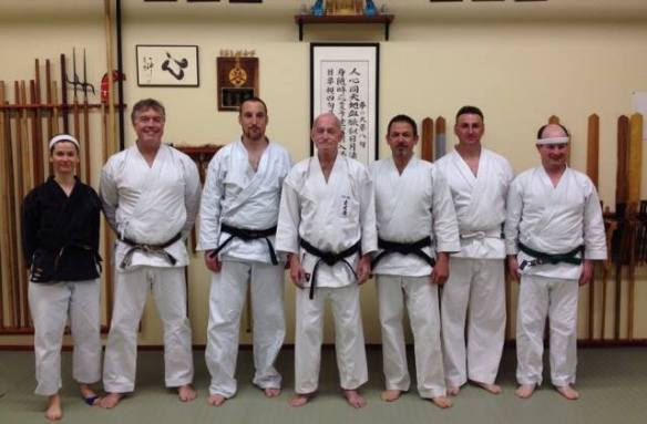 With Kimo sensei, May 2014