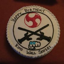 cake for Kimo sensei