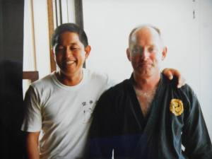 With Nakasone san in the 1980s